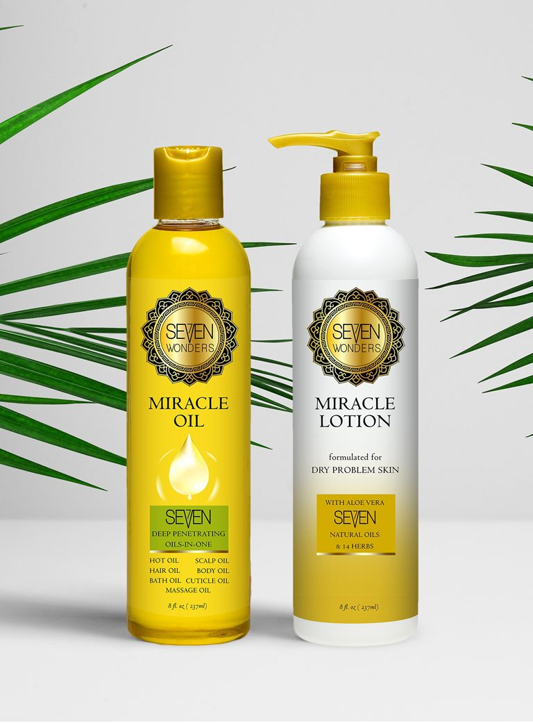 Seven Wonders Miracle Oil and Lotion