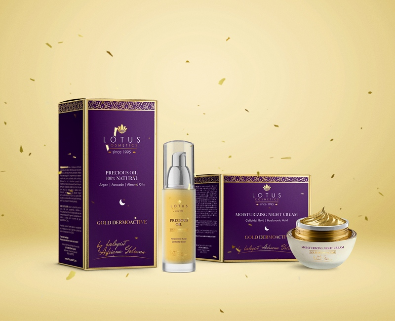 Brand development and packaging design for luxury cosmetic products