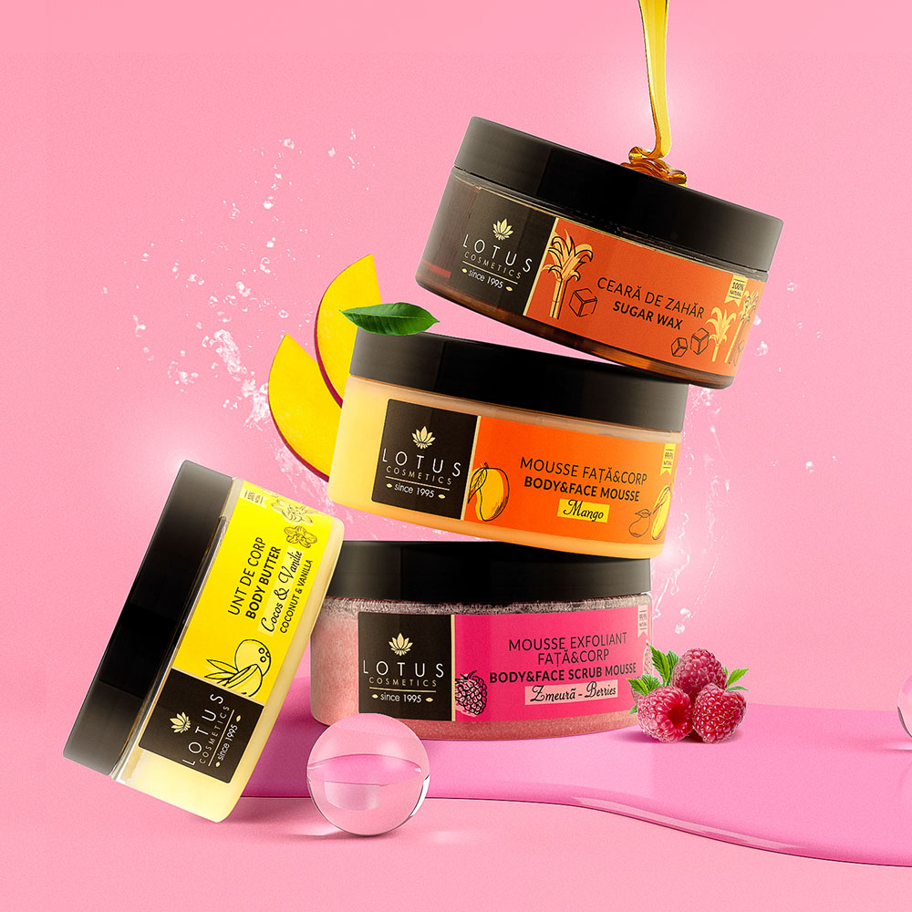 Lotus Cosmetics Spa Dermoactive Branding and packaging design